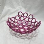 Pink Fruit Bowl
